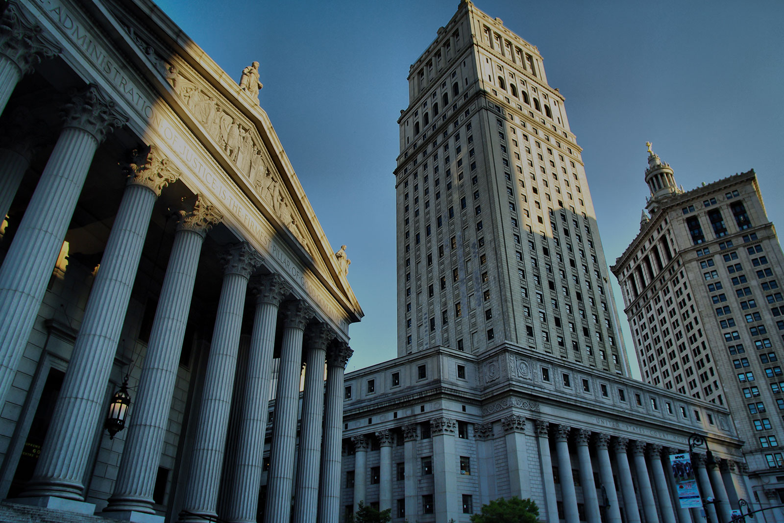 About Header Background - Daytime City Courthouse