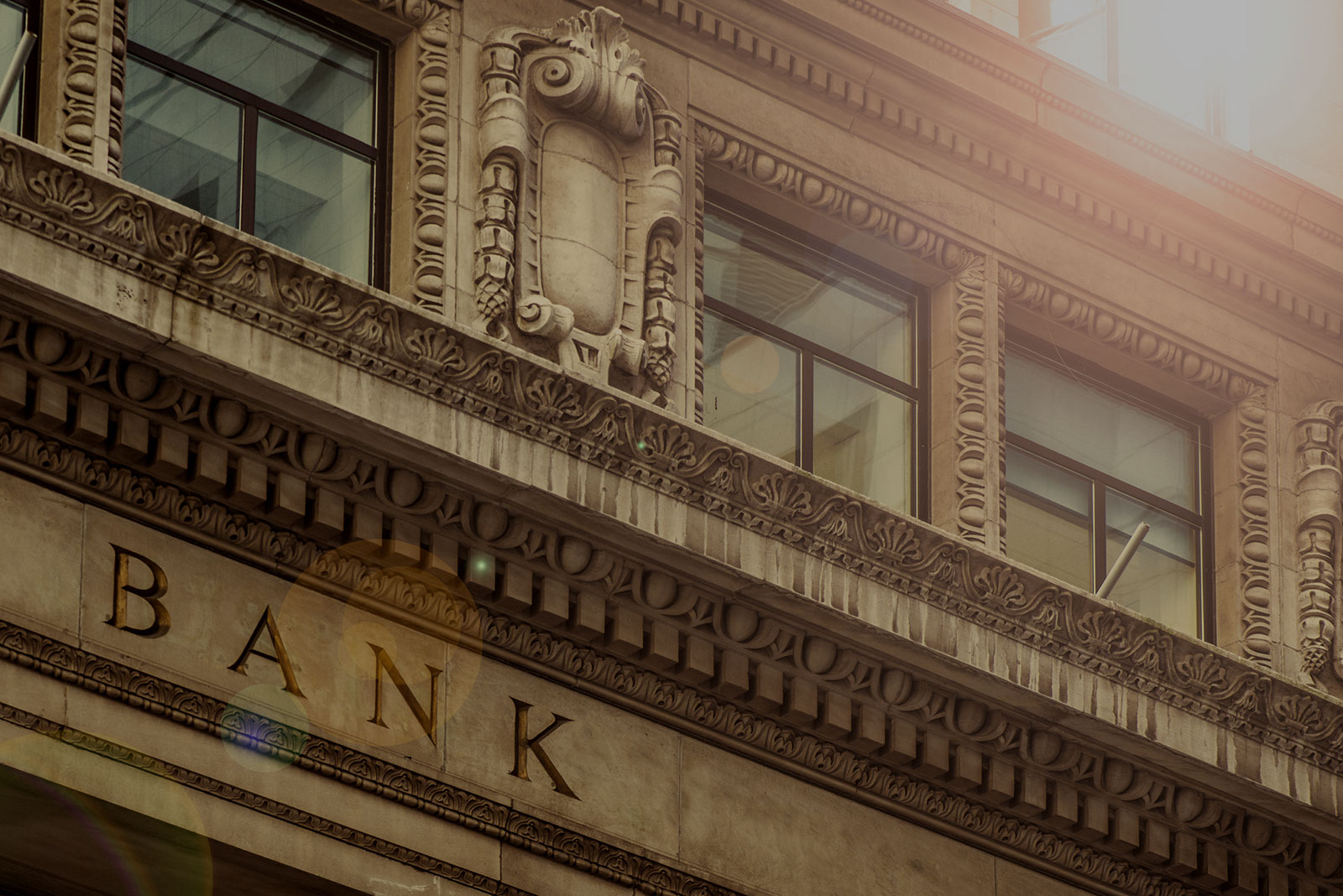 Banking & Lending Header Background - Bank Exterior