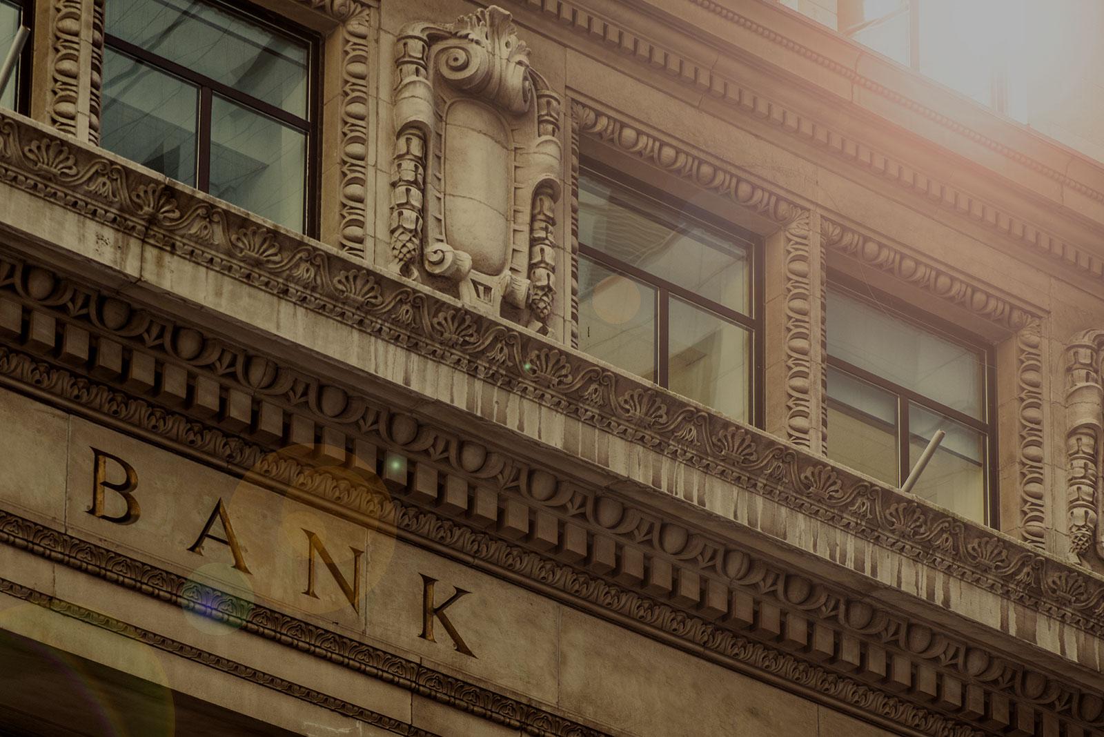 Banking & Lending Header Background - Bank Exterior
