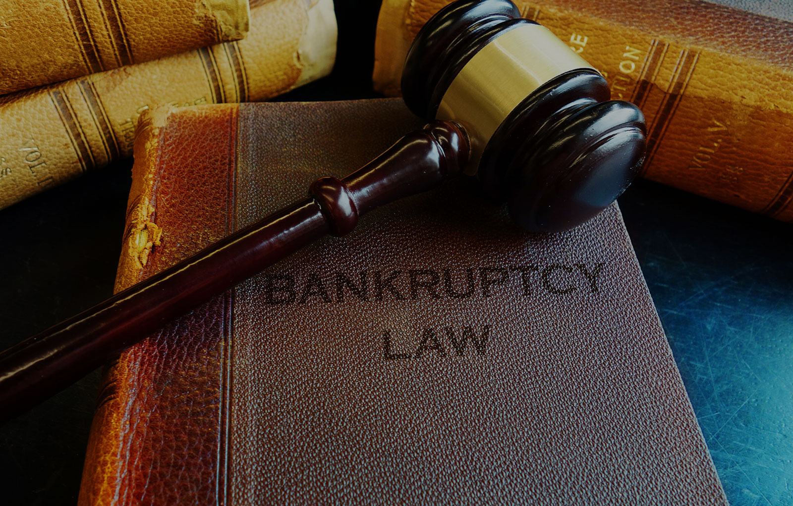Bankruptcy & Creditor's Rights Header Background - Judge Mallet on Bankruptcy Law Book