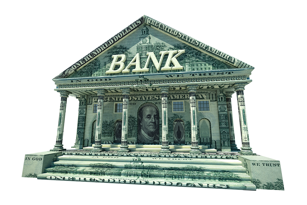 Home Services - Bank Made out of Dollars